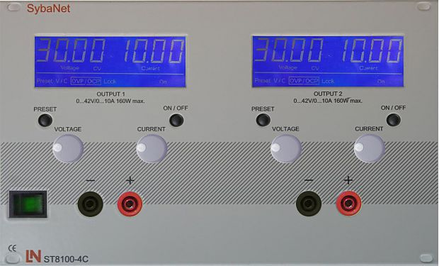 New power supply units lab Full flexible energy